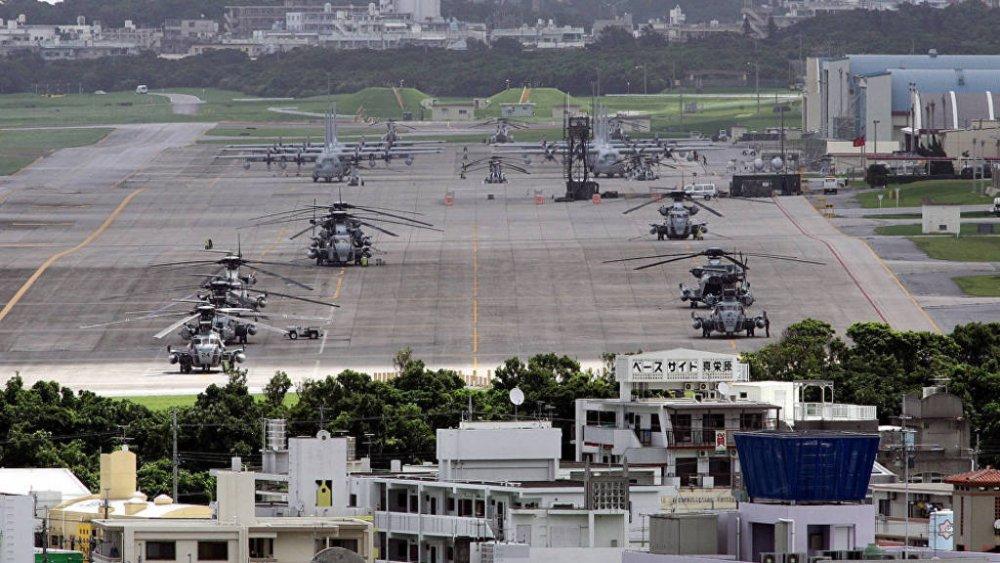 СМИ: В Японии взорвали американскую военную базу новости,события, политика