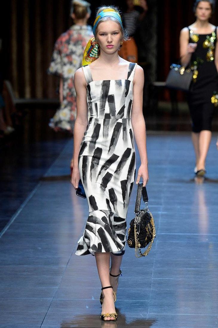 Тренды лета 2019 - модные платья с принтом