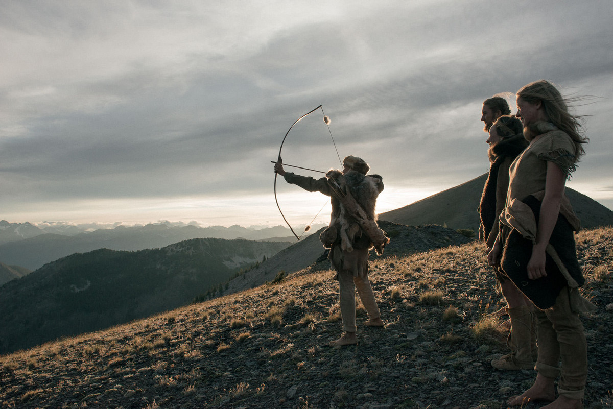 Назад в палеолит: охотники-собиратели 21-го века в фотопроекте «Живущие дикими» 9