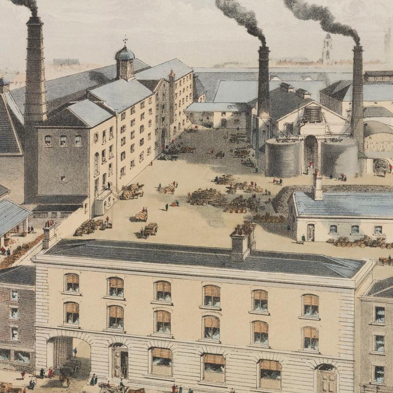 Ад, рай и чистилище для ирландца: день, когда Дублин затопило цунами из виски загадки,история,курьезы,приколы,тайны,юмор