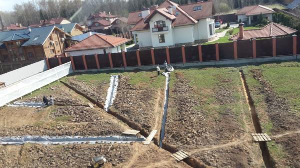 Дренажные системы на дачном участке: поверхностный дренаж дренаж,ландшафтный дизайн