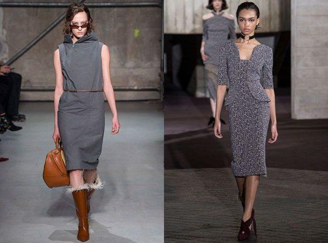 Модные платья для деловых женщин весна 2019