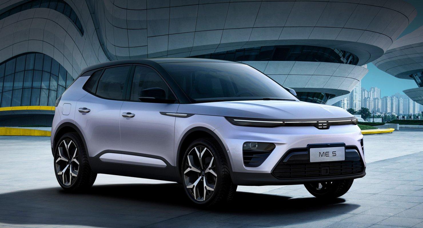 Компакт Enovate ME5 стартовал в Китае с гибридной установкой Автомобили