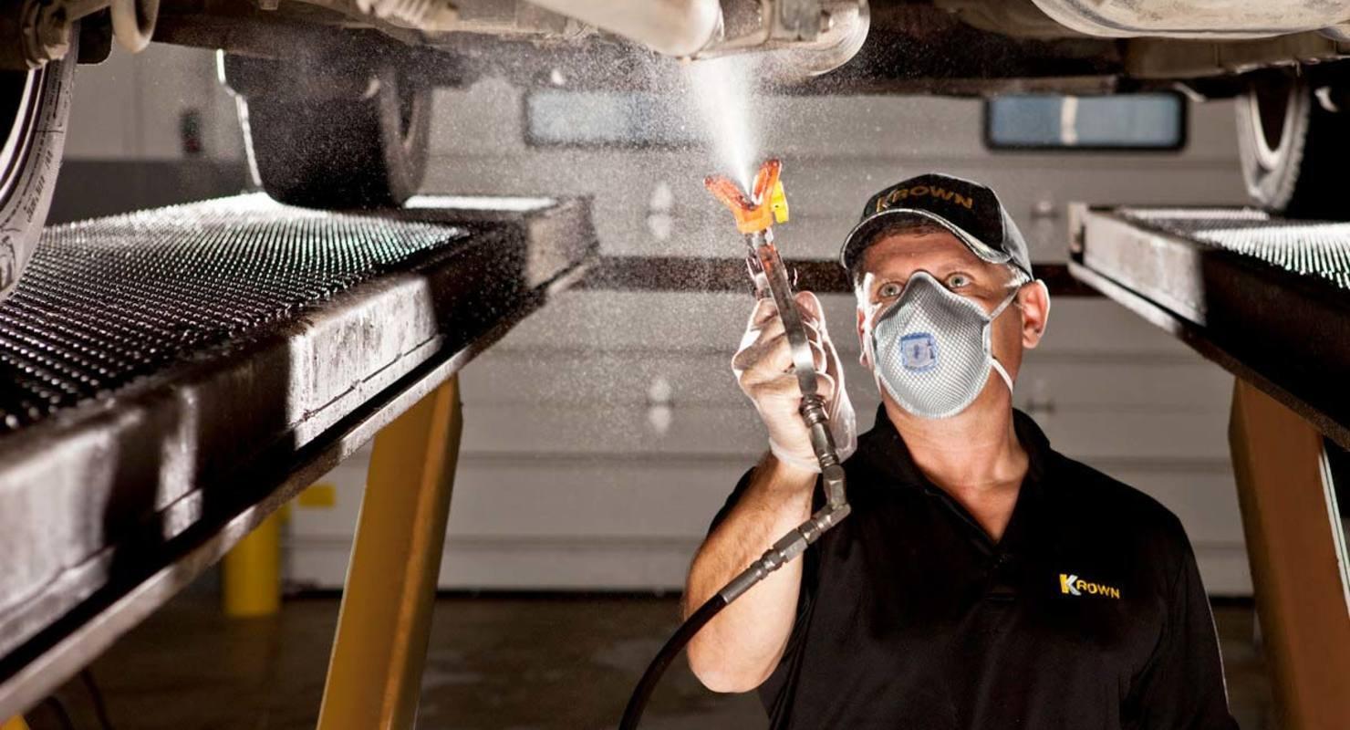 Обработка днища автомобиля — дополнительная защита и прочность Автомобили
