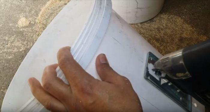 Как своими руками сделать катушку для садового шланга из старого пластикового ведра гаджеты,советы