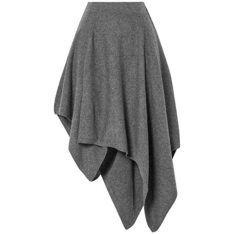 Весна 2020 — юбки сложного кроя, длина миди, фото № 39