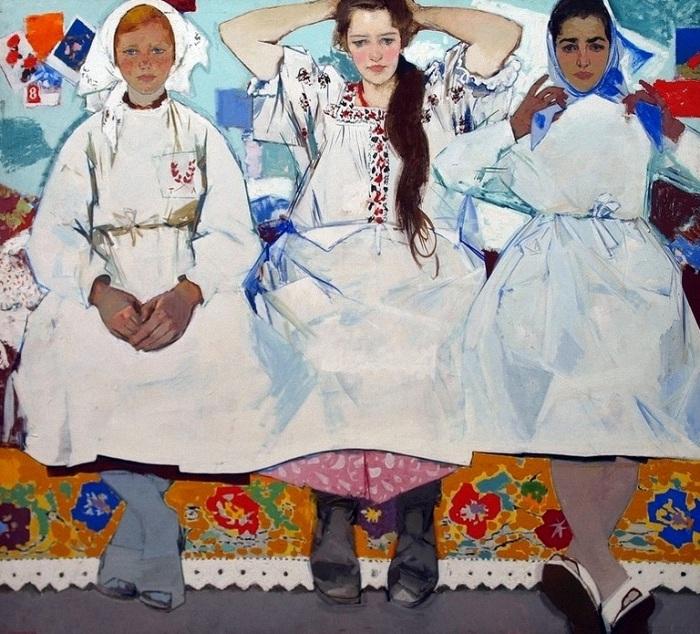 Женщины глазами художников соцреализма