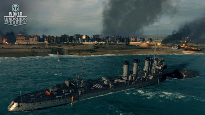 В World of Warships появятся тематические миссии в честь выхода в прокат фильма «Дюнкерк»