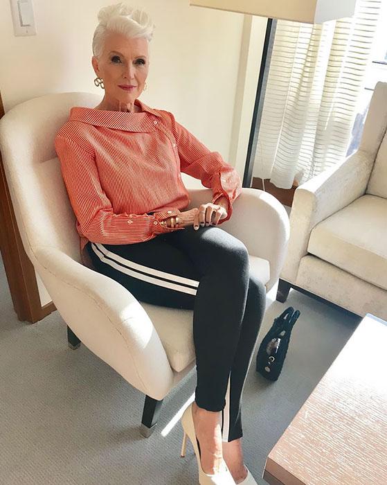 Сногсшибательная Мэй Маск - ей 70, но её стилю позавидует любая двадцатилетняя девчонка. Вот вам и «старушка»!