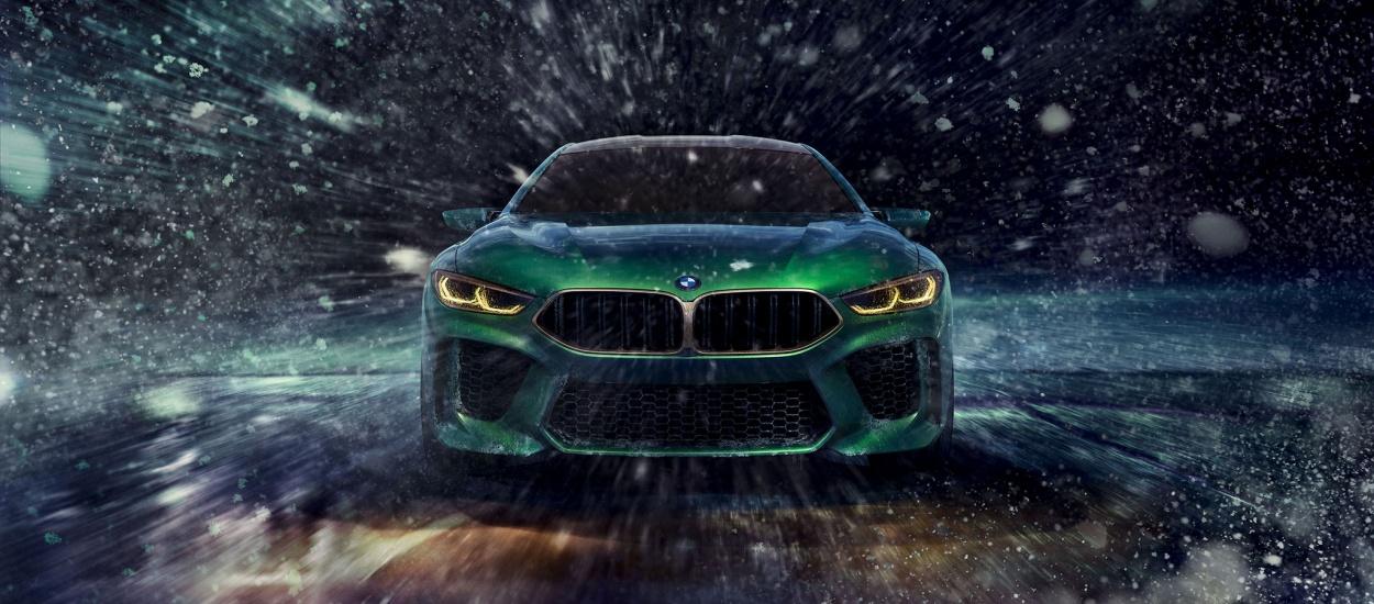 BMW M8 Gran Coupe Concept: будущий флагман BMW M