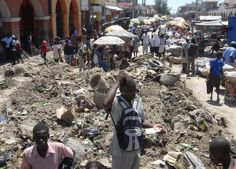 12. Гонаив, Гаити дом, жилье, опасные места, строительство