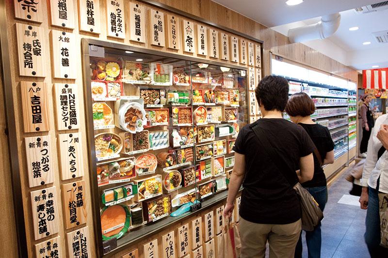 Вокзальная еда в Токио