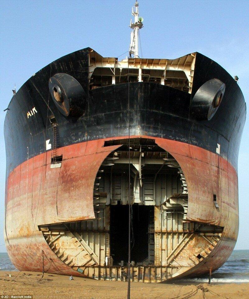 Берег мертвецов Аланг: распил советского флота Аланг, деньги, интересное, корабли, распил, суда, факты, флот