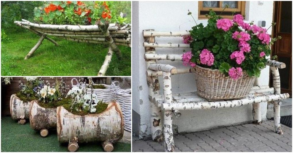 Необработанная древесина в экстерьере: креативные идеи, достойные внимания