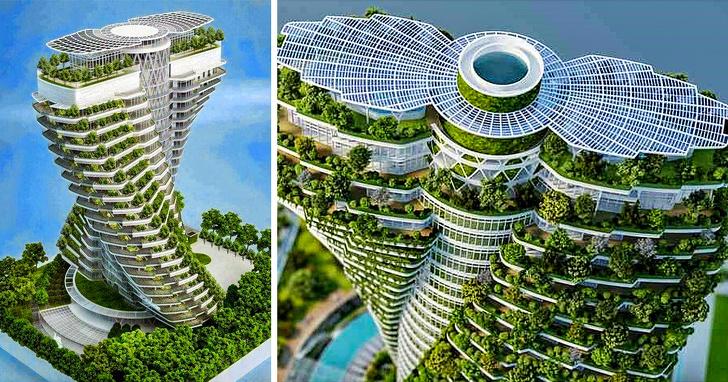 13 головокружительных небоскребов, которые потрясли мир