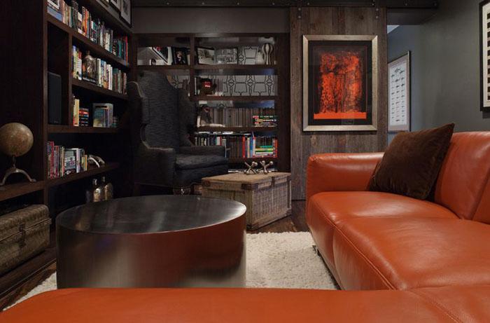 Мужская мебель в интерьере
