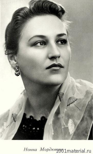Легендарная артистка Нонна Мордюкова