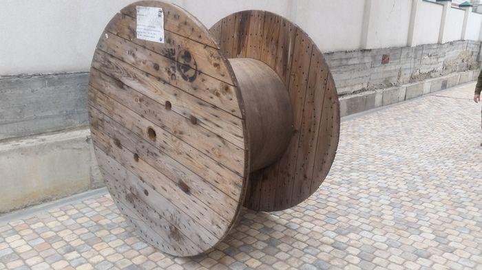 Вторая жизнь большой деревянной бобины