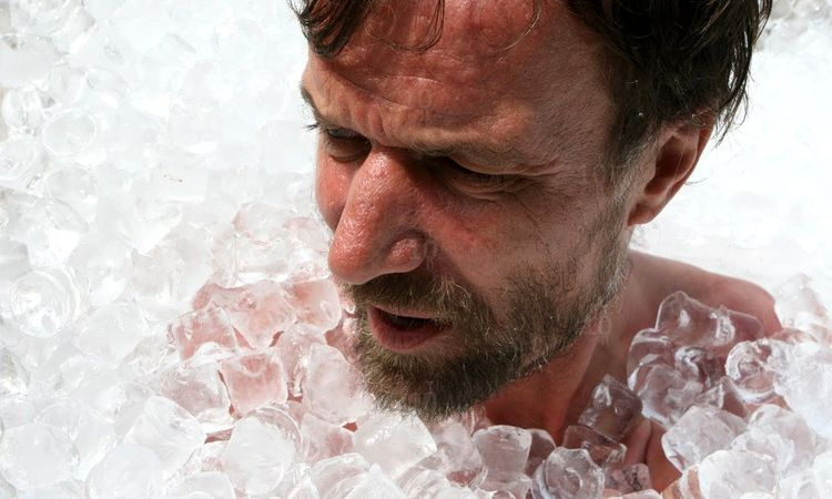«Ледяной человек» Вим Хоф