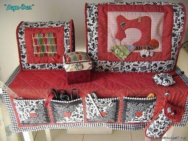 Шьём красивые чехлы для швейной машинки вдохновляемся,шитье