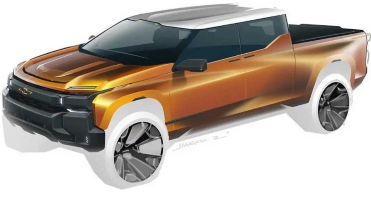 На рендерах представили радикальную эволюцию дизайна пикапа Chevrolet Silverado Автомобили