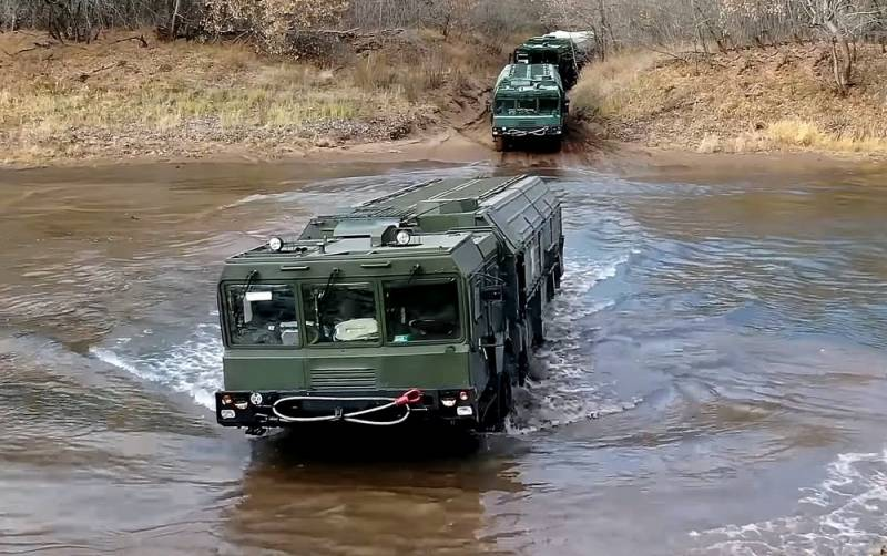 «Искандеры» переброшены в приграничные с Украиной районы