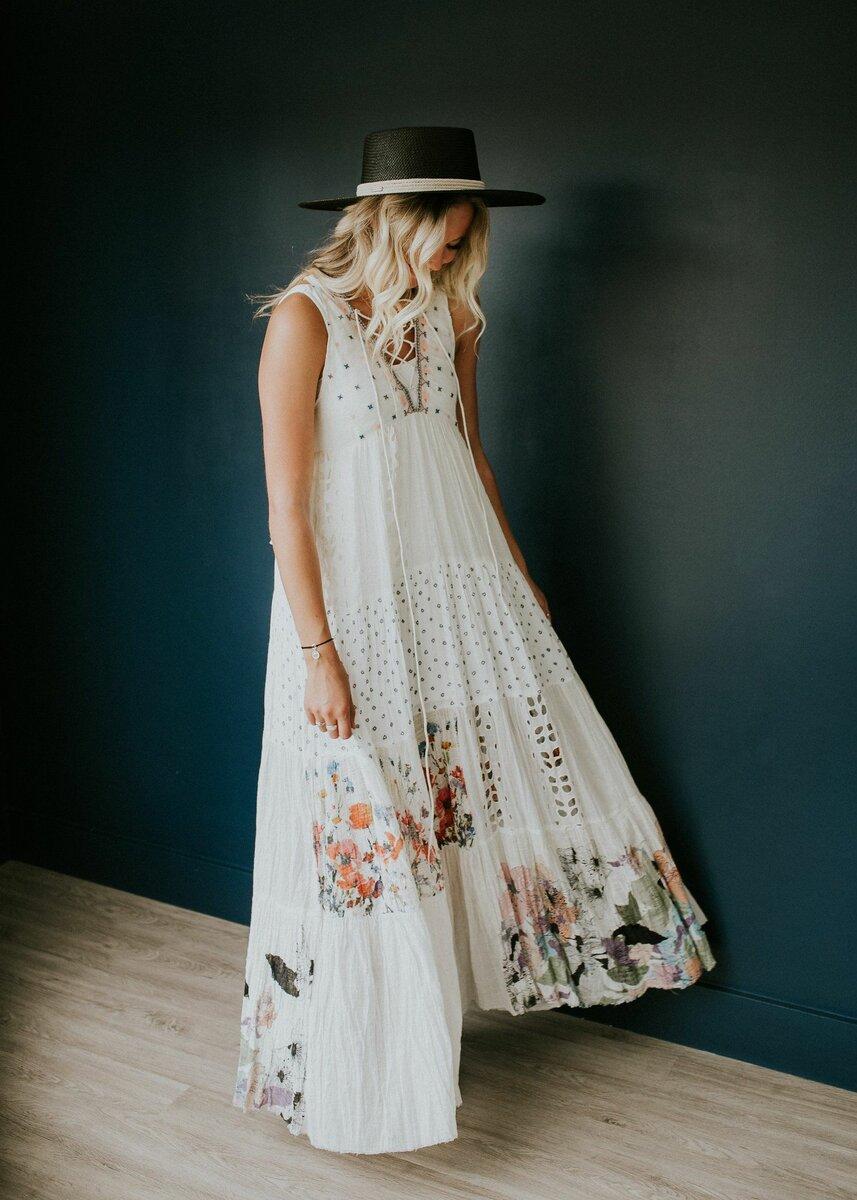 3 восхитительных платья в стиле бохо, которые выделяют женщину из толпы