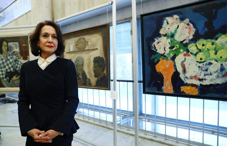 Испанцы подарили России коллекцию картин