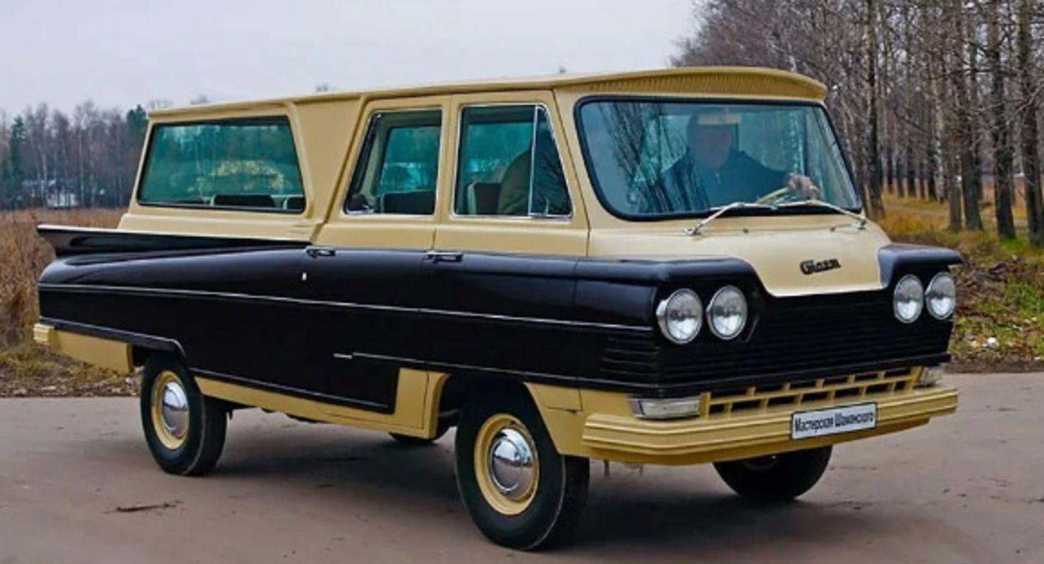 В Сети вспомнили о редком советском микроавтобусе «Старт» из стекловолокна Автомобили