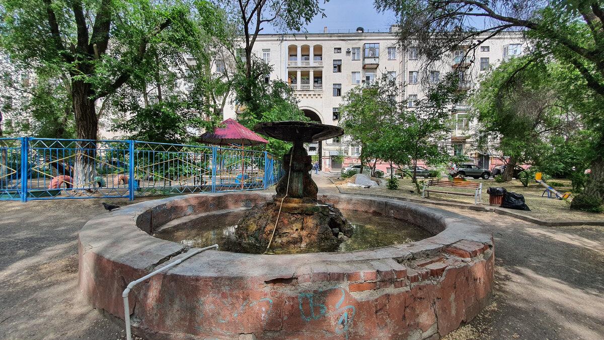 Самый старый действующий фонтан в Волгограде