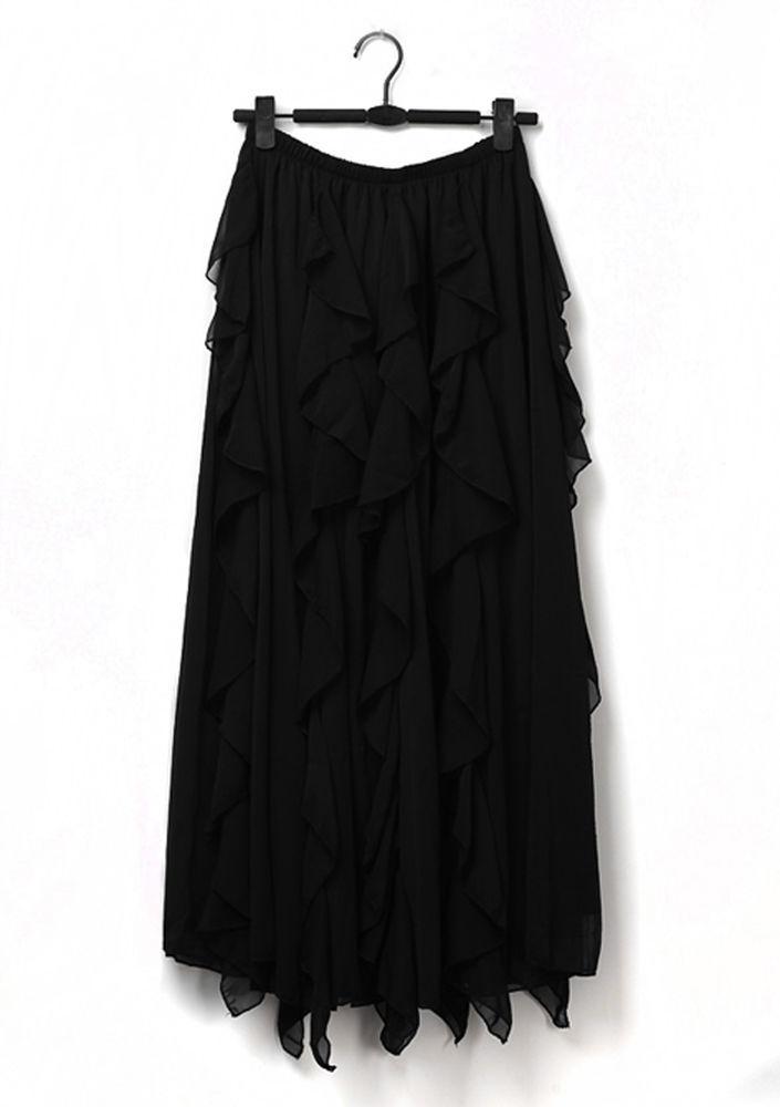 Весна 2020 — юбки сложного кроя, длина миди, фото № 9