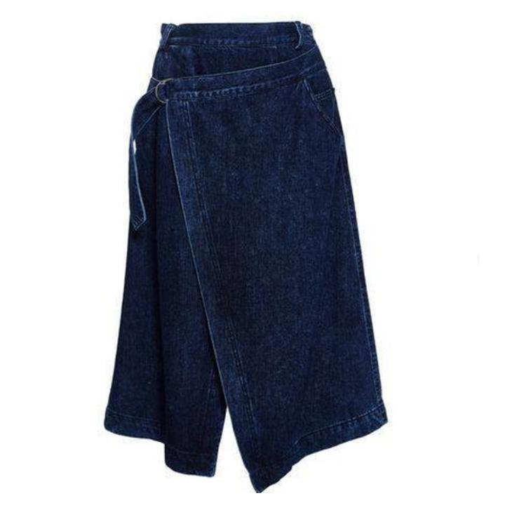 Весна 2020 — юбки сложного кроя, длина миди, фото № 15