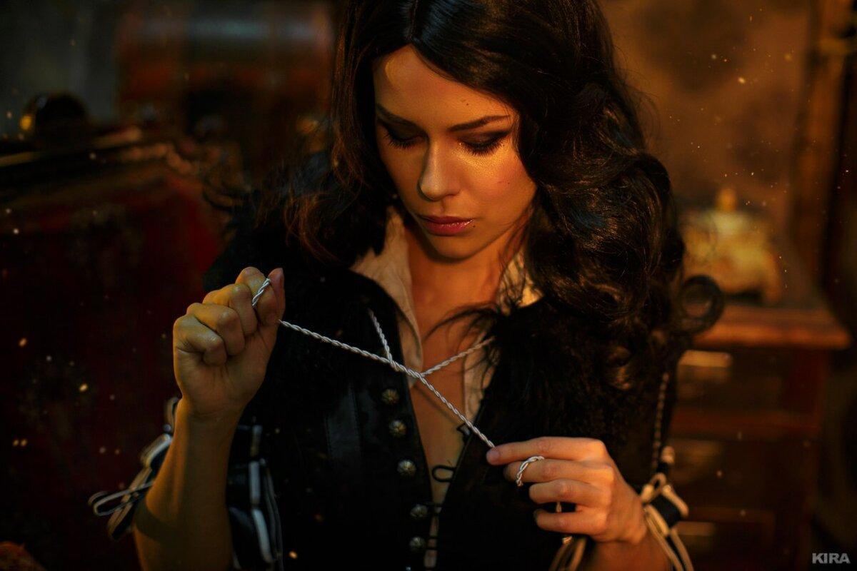 Йеннифер - истинная любовь Ведьмак,Игры,Йеннифер,косплей