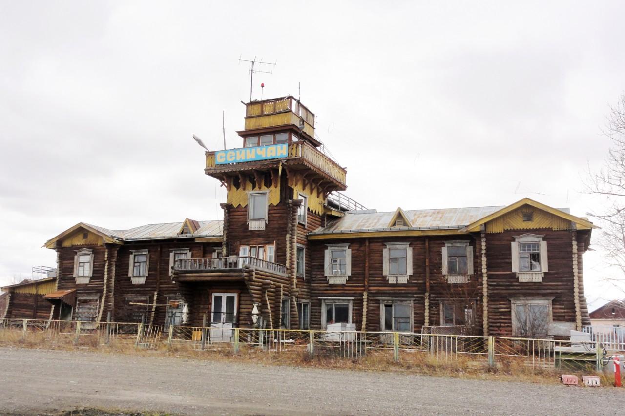 А вы знаете, что в России до сих пор есть деревянные аэропорты?