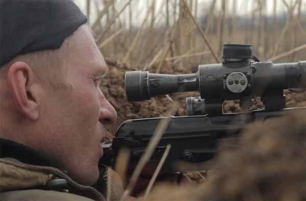 Снайперы из батальона Моторо…