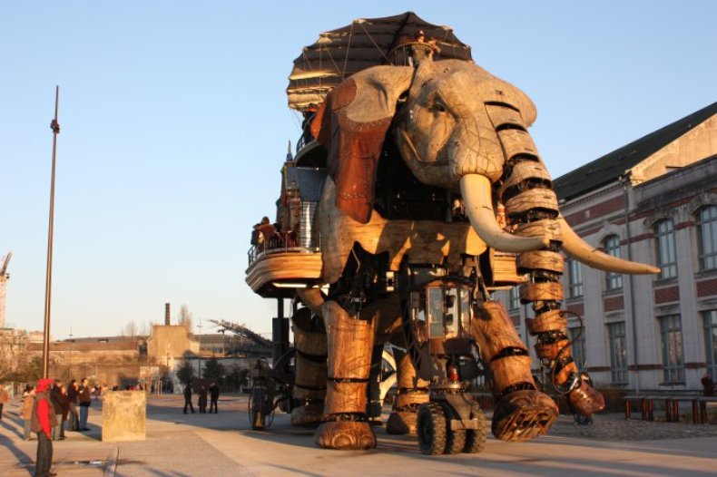 Парк роботов во Франции «Machines of the isle of Nantes»