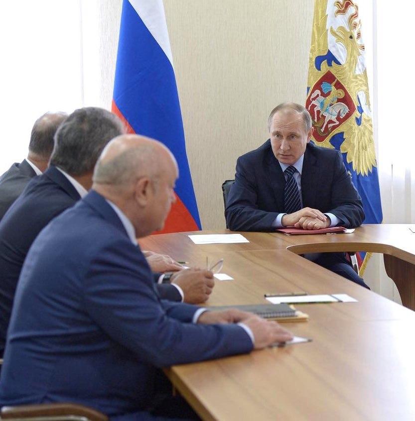 Путин обсудил с СБ социально…