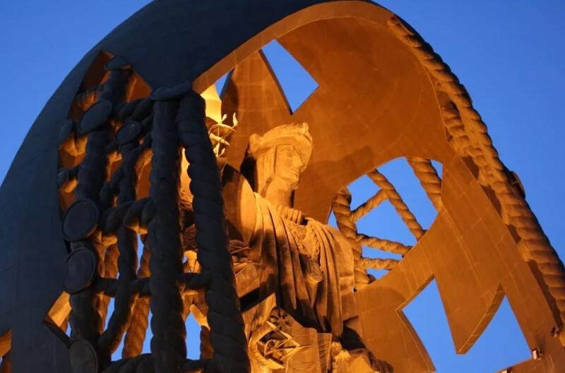 5 самых высоких статуй планеты планета,рекорды,статуи