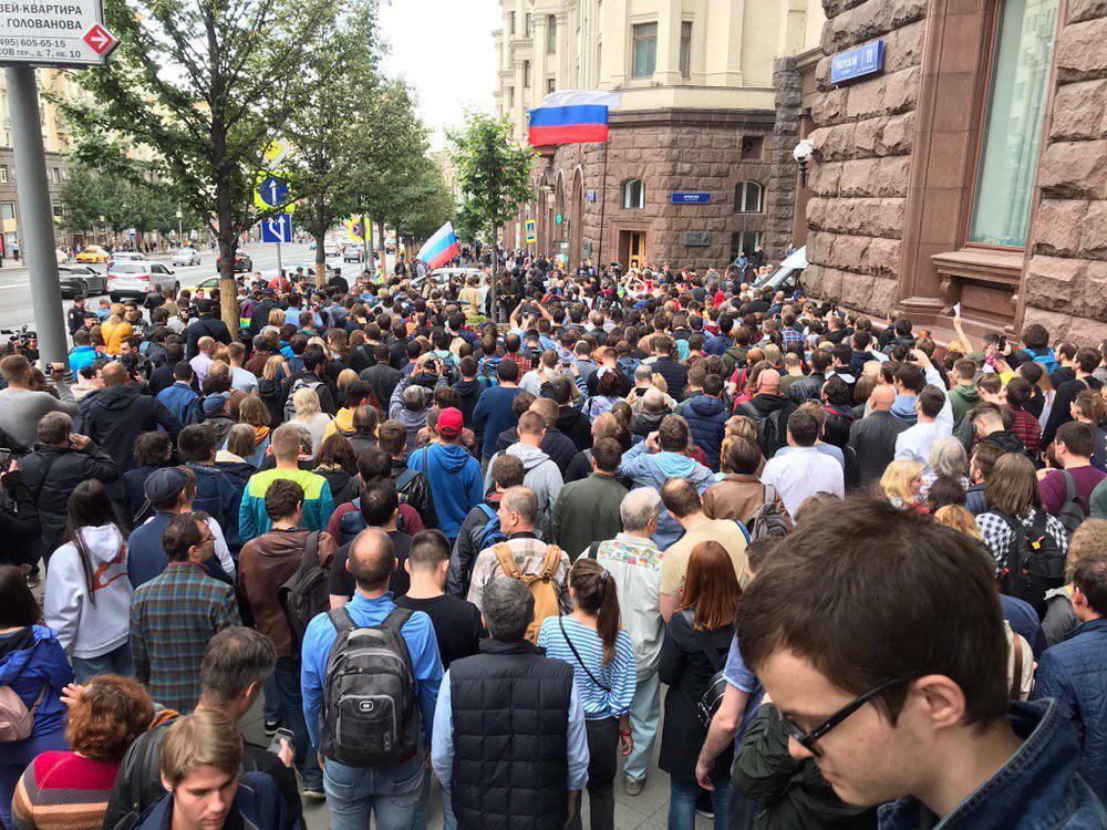Укры пишут, Москва восстала!!!
