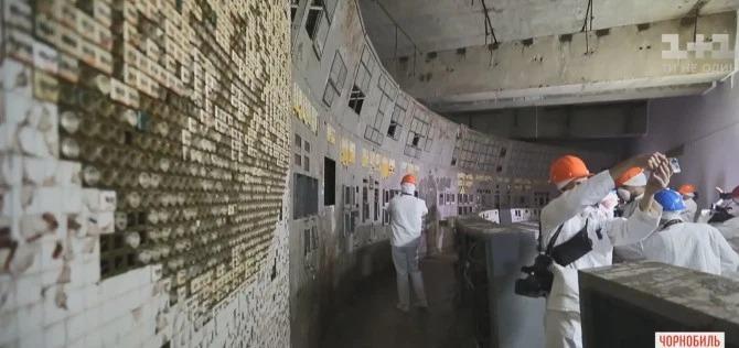 В Чернобыле для туристов открыт зал управления