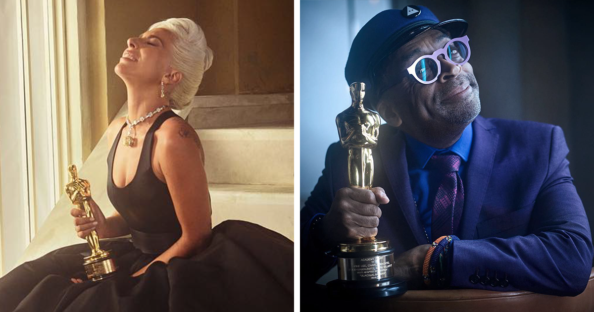 19 Stunning Celebrity Portraits Taken Right After The 2019 Oscar Ceremony