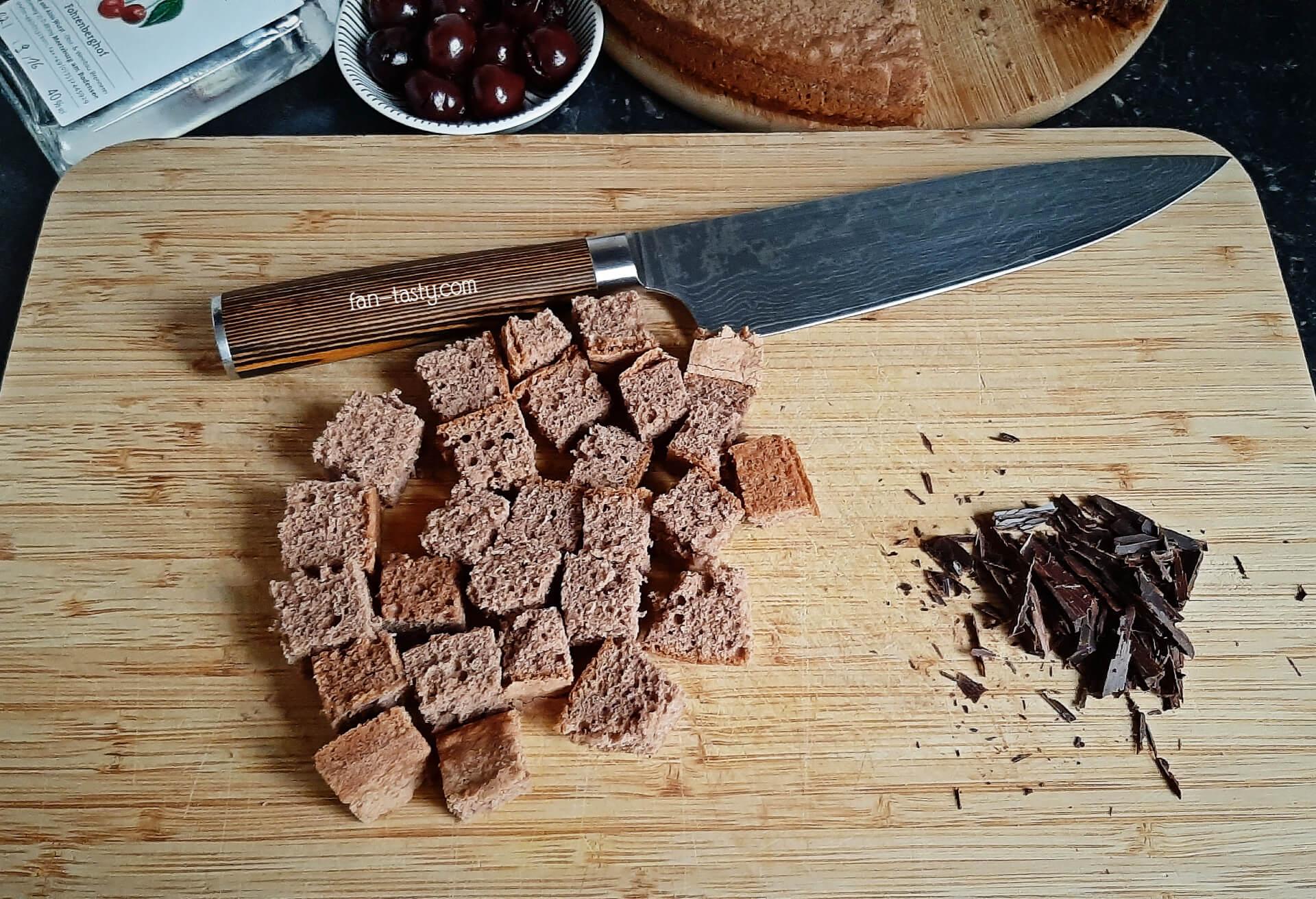 Десерт для взрослых Чёрный лес десерты,кухни мира,торты