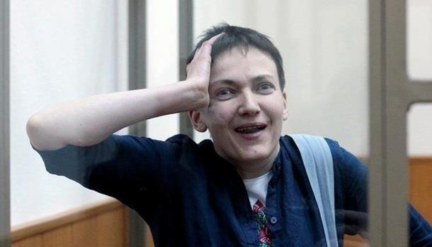 Савченко в тюрьме. Почему мо…