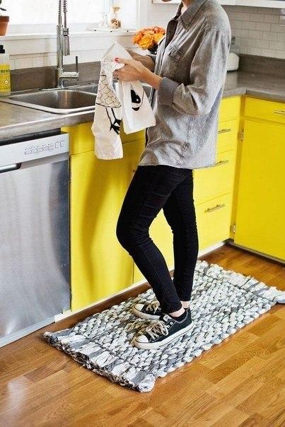 Кухонный коврик своими руками 5