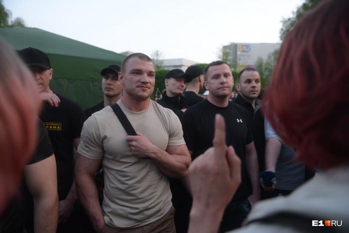 Боевые люди Российской Православной Церкви РПЦ, Екатеринбург, Длиннопост