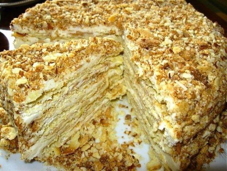 Старинный рецепт торта Наполеон от Ирины Покровской