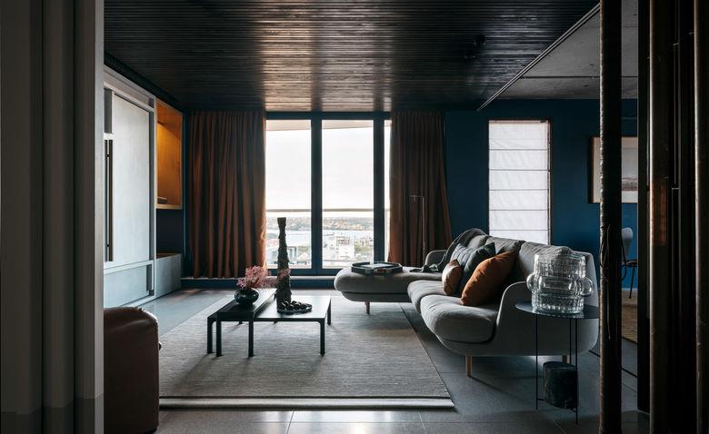 Как сделать темную квартиру красивой: пример из Сиднея