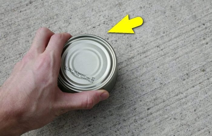 Как вскрыть банку консервов без ножа и открывалки: проверенный армейский метод
