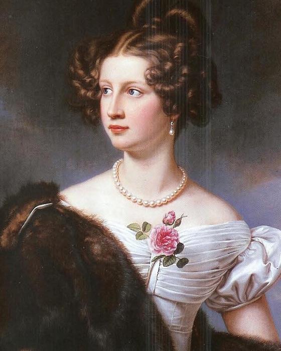 Амалия Крюденер, 1827 год. | Фото: ru.wikipedia.org.