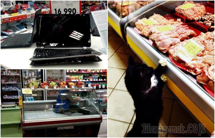 19 смешных ситуаций из супермаркетов, свидетелями которых стали простые покупатели
